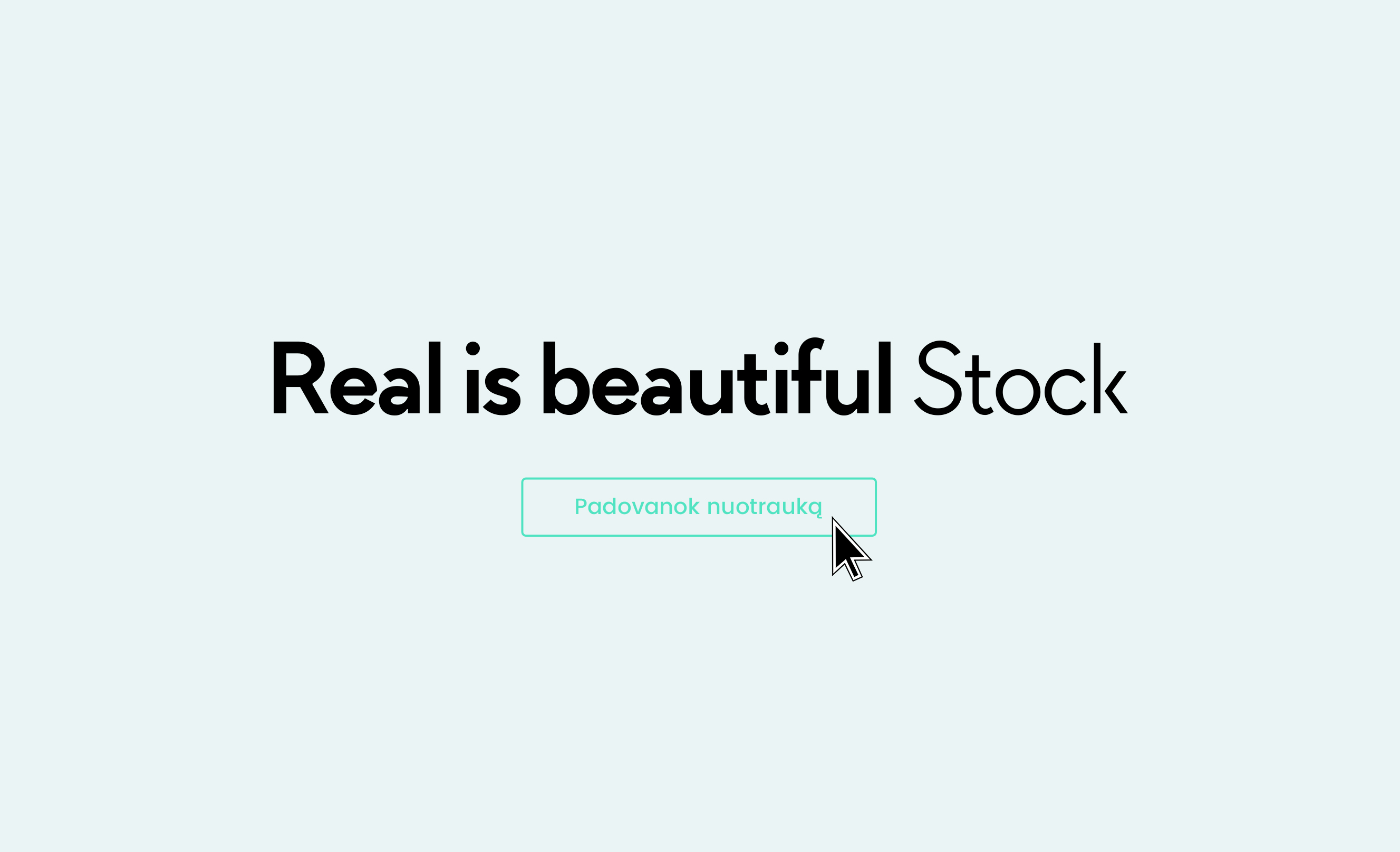 Real is Beautiful Stock